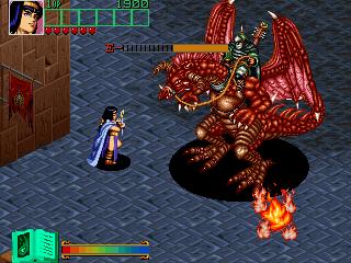 ダークシールII-ゲーム画面