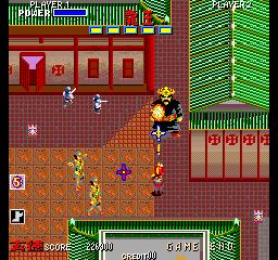 臥竜列伝-ゲーム画面