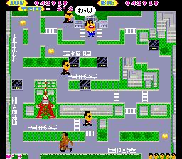 ごんべえのあいむそ〜り〜-ゲーム画面