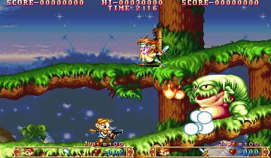 ルースターズ-ゲーム画面