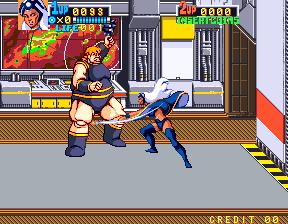 X-MEN_ゲーム画面