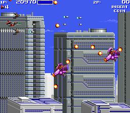 エアバスター-ゲーム画面
