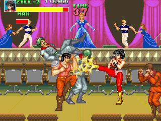 ビッグファイト-ゲーム画面