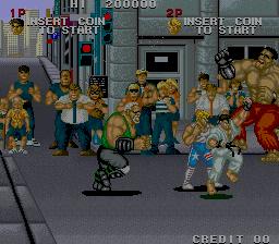 ストリートスマート-ゲーム画面