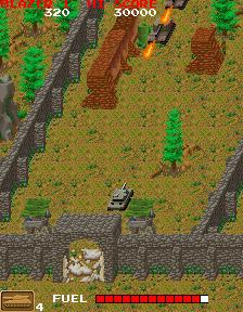 ブレイザー-ゲーム画面