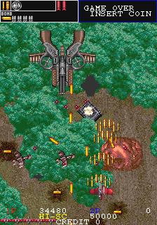 ガンフロンティア-ゲーム画面