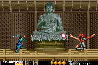剣豪-ゲーム画面