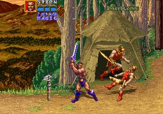 デスアダーの復讐-ゲーム画面
