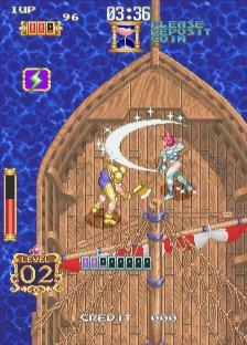 ガイアポリス-ゲーム画面