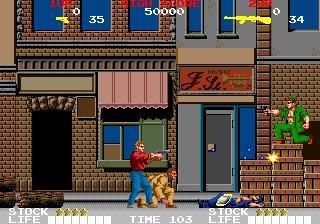 クライムシティ-ゲーム画面