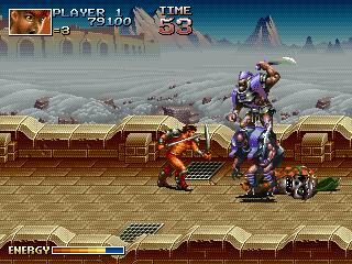 クロスブレイズ-ゲーム画面