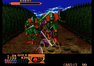 クロスソード-ゲーム画面