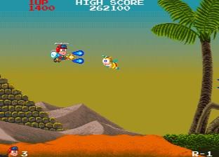 インセクターX-ゲーム画面