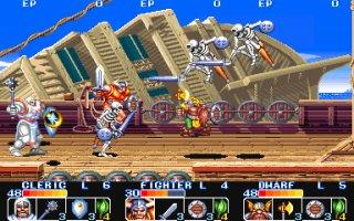 ザ・キングオブドラゴンズ-ゲーム画面