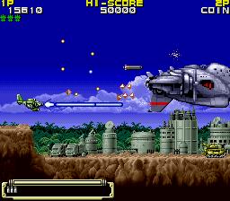 鋼鉄要塞シュトラール-ゲーム画面
