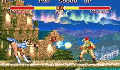スーパーストII-ゲーム画面