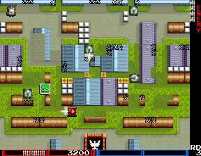 タンクフォース-ゲーム画面