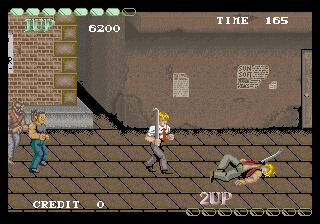 タフ・ターフ-ゲーム画面