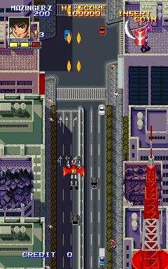 マジンガーZ(AC)-ゲーム画面