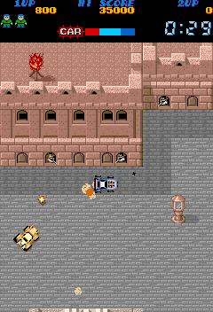ラッシュ&クラッシュ-ゲーム画面