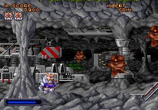 機動戦士SDガンダム-ゲーム画面