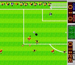 テーカンワールドカップ-ゲーム画面