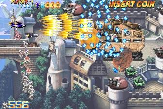 プロギアの嵐-ゲーム画面