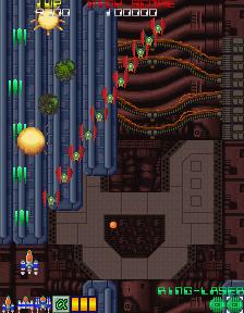 デンジャラスシード-ゲーム画面
