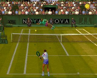 アルティメットテニス-ゲーム画面