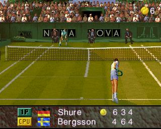 アルティメットテニス-ゲーム開始