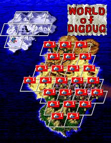 ディグダグ・アレンジメント-マップ3