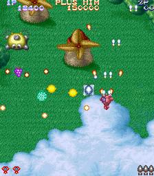 プラスアルファ(AC)-ゲーム画面