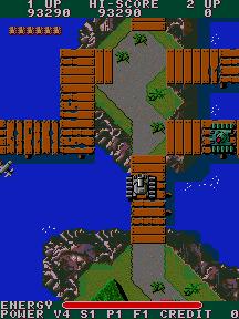 T・A・N・K(AC)-ゲーム画面