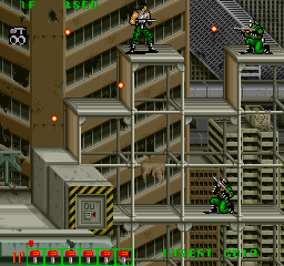 ミッドナイトレジスタンス-ゲーム画面