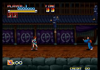 武蔵巌流記-ゲーム画面