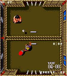 パドルマニア-ゲーム画面