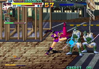 戦国伝承2000-ゲーム画面