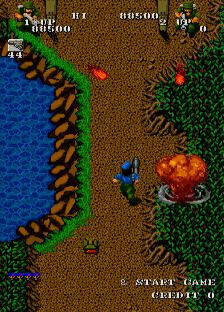 ゲバラ(AC)-ゲーム画面