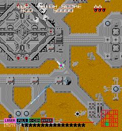 ラストミッション-ゲーム画面