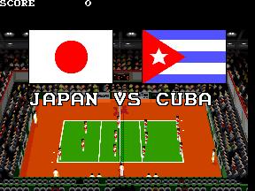スーパーバレーボール-1試合目-1