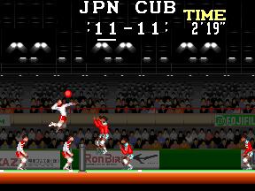 スーパーバレーボール-1試合目-2