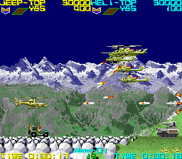 シルクワーム-ゲーム画面