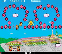 プランプポップ-ゲーム画面