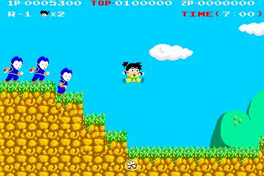 快傑ヤンチャ丸-ゲーム画面