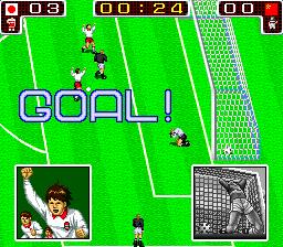 テクモワールドカップ90-ゲーム画面